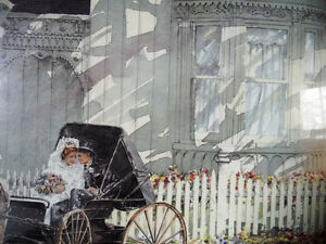Victorian Wedding Picture, w/ Horse and Buggy by Walter Campbell Stratford Kitchener Area image 4