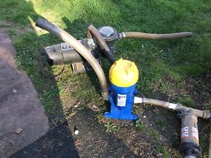 pool pump and nature pure chlorine reducer