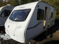 Sprite Alpine 4 2008 Fixed Bed 4 Berth Lightweight Touring Caravan