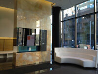 Brand new suite in Yorkville. High end finishes