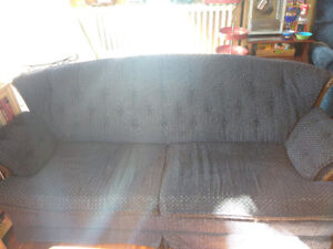 Blue couch for sale - downtown Halifax