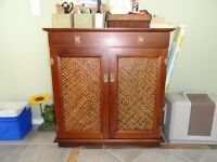 Wine and liquor cabinet for sale