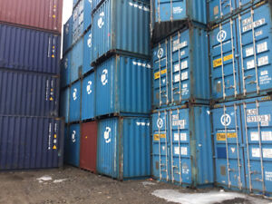 20' 40' 48' 53' Storage Containers Cargo Worthy