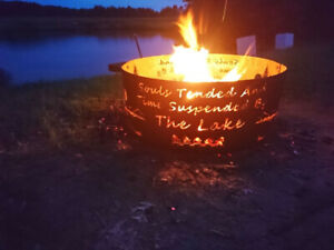 Sale Custom Firepit Rings - Gift Certs Available - Fire Pit Ring