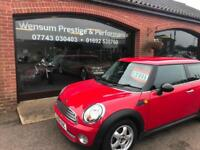 2008 '58' MINI ONE SALT SIX SPEED MANUAL HATCHBACK