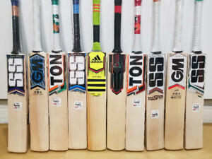 SS,NB,GM, Cricket Bats/Batting Equipment's/Accessories on sale