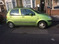 Matiz mot Feb perfect drive 1. Litre