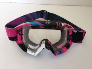 FOX YOUTH OR LADIES OFFROAD GOGGLES (ALMOST NEW)