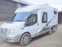 A Quality German Built Hobby T500 GFSC 3 Berth Motorhome 2009 In Excellent Condition