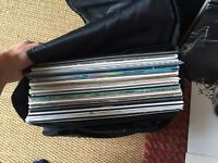Vinyl record collection 60+ records