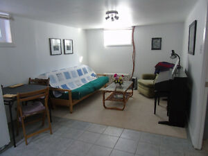 Private, Equipped and Furnished 1 BR Apt, for Winter Semester