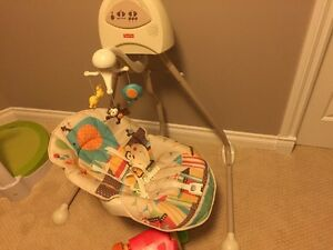 Bed, Bath & shower, High Chair and ...