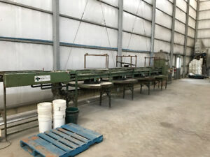Washer and Packing line