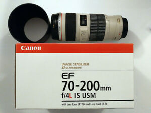 Canon EF 70-200 mm f/4L IS USM