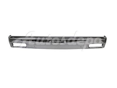 FOR 82-93 CHEVY S10 PICKUP GMC SONOMA FRONT BUMPER BAR CHROME W/O STRIP HOLE