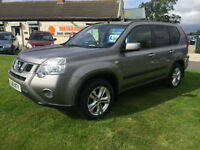 61 Nissan X-Trail 2.0dCi ( 173ps ) 4X4 Acenta FSH 1 OWNER PRIVACY BLUETOOTH