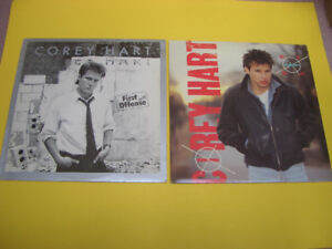 COREY HART BOY IN THE BOX AND FIRST OFFENSE RECORDS