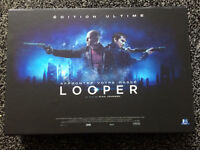 Looper French Boxset includes sealed blu ray Lenticular steelbook