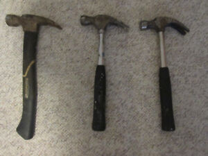 HAMMERS for sale. THREE OF THEM!