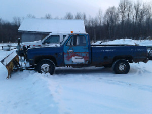 1986 chevy plow truck