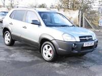 Hyundai Tucson 2.0CRTD GSI, Silver, 2005, FSH, 6 Months AA Warranty