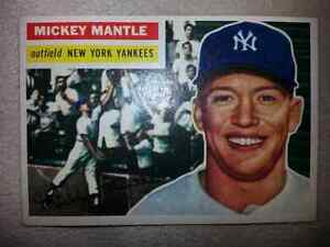 1956 Topps Mickey Mantle