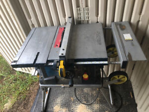 Table Saw 10 in mastercraft