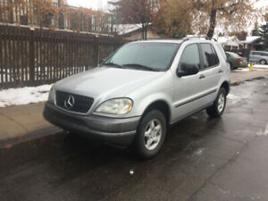 !!!! 1999 MERCEDES BENZ ML-320 SUV V6 AWD LOADED  ONLY 170K !!!!