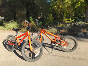 """2016 norco samurai 16"""" kids bikes. Perfect for kids ages 4-7."""