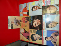 10 Elvis Singles 1957 to 1962 $100.  In excellent condition.