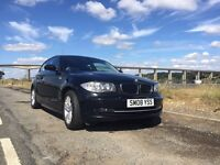 2008 BMW 1 Series 1.6 116i SE Black inc iDrive