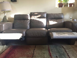 2 Natuzzi couches for sale Kitchener / Waterloo Kitchener Area image 2