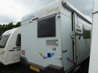 Hymer Swing 544 6 berth end kitchen aochbuilt motorhome for sale ref 12028