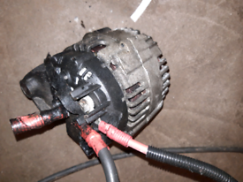 BMW 320 diesel alternator off 55 plate