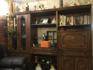Wall Unit | Buy or Sell Bookcases & Shelves in Edmonton | Kijiji ...