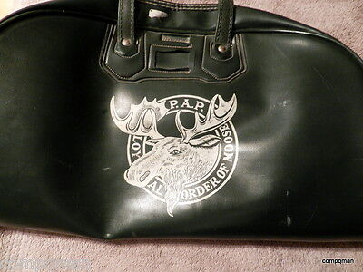 P.A.P. Loyal Order of the Moose Lodge Old School Travel bag Westchester Luggage
