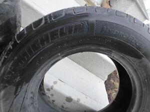 A Pair of Michelin HydroEdge Tires p215/70r15