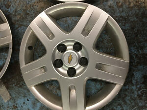 16'' CHEV IMPALA OR MALIBU OEM WHEEL CAPS X4