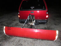 Hitch Mounted Snow Blade