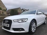 2014 64 AUDI A6 2.0 TDI ULTRA SE EXECUTIVE S TRONIC WHITE