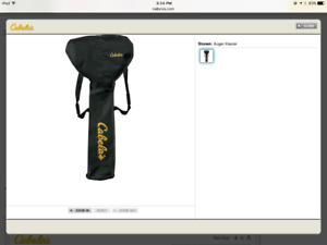 Brand New Cabelas Ice Auger Case