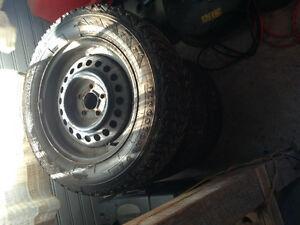 Firestone Winter Tires 195/65R15 London Ontario image 2