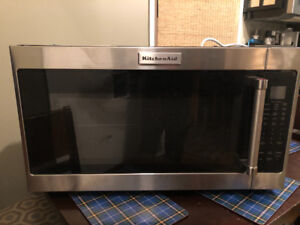 Brand new kitchen aid over the range microwave