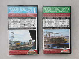 Modern Traction Archive VHS Railway Videos