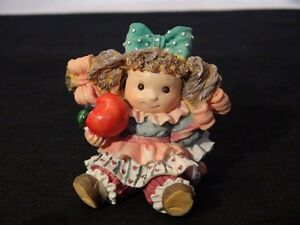 """The Apple Of His Eye """"You're The Apple Of His Eye"""" Figurine"""