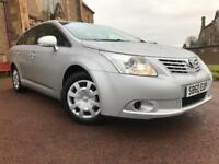*12 MTHS WARRANTY*2010(60)TOYOTA AVENSIS 1.8 V-MATIC ESTATE WITH ONLY 69K*