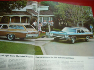1970 Chevrolet sales brochure Peterborough Peterborough Area image 5