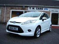 2011 61 Ford Fiesta 1.6TDCi Zetec S 3d **59k / £20 Tax**