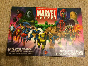 The Marvel Heroes Strategy Board Game