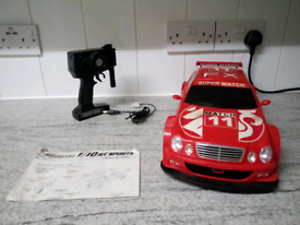 Mercedes 1/10 r/c sports battery Remote control car.